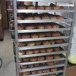  Paczki Day...Paczki stacked everywhere!