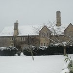 Leigh House in the snow