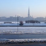                    View of Daugava river and Riga