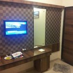 Wall unit of executive room