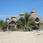                    The 4 palapa units