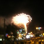  TET, FIREWORKS, view from room, one of many!