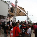  There Having A Concert In The Entrance Of Fort Rotterdam