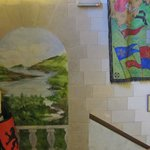 Castle Rock Hostel: Escaliers communs