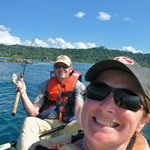 rented a kayak in Manuel Antonio to go fish...