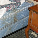                    Stained mattress, time to replace.