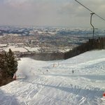 View of Maribor from the slopes
