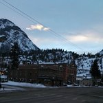  Upstairs View of Ouray Sunrise