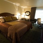 Our king guest rooms offer a good night's rest.