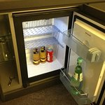                                     Minibar for free