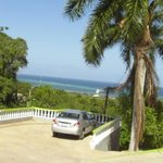                    The parking and the View at Emerald Villa Resort