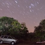 The night sky was full of stars - Opportunity to learn Time-lapse photography.