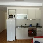  kitchenette and hallway