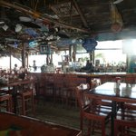 One huge Tiki Bar.