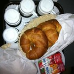                    continental breakfast delivered to our room each morning.