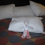                   Flat Stanley Relaxing
