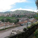                    View oif Cusco from hotel