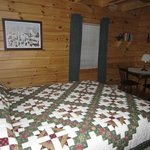 Maple Room with queen size bed & private bath