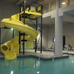 Indoor Pool/Waterslide and Hot Tub