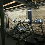                                     nice workout eoom with steam room, sauna, and massage rooms.