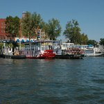  The Lafayette from mid-channel during Sternwheeler Festival
