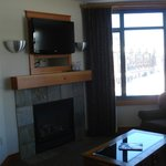                    TV/Fireplace in living room of 525