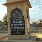 The Entrance to the City of Jaisalmer