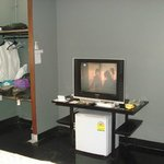 Closet and TV