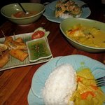 hervorragendes Thai-Food