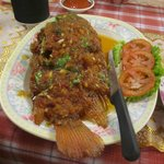 Sea-bream with spicy thai sauce