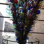                    Chihuly Sculpture