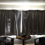 holes in curtains