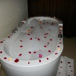 Complementary aromatherapy bath