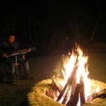 Music by the bonfire