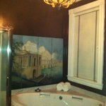 Edward Butler room's two person whirlpool tub