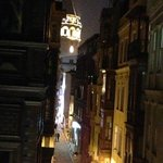                    View from Guest room Terrace of Galata Tower