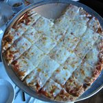 Large Crust pizza - cheese with extra cheese