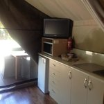                    Kitchen Serengeti Tent 2