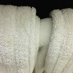                    Hair on towels