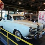  One of the first air conditioned cars at the Historic Route 66 Museum