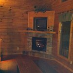 Foto de Mountain Shadows Log Home Resort