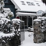  Snow of 2011 - but so warm and cosy inside