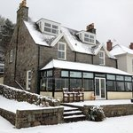  a snowy but very welcoming place to stay