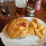 Rabbit Pie, very tasty!