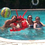                   Fun at the pool