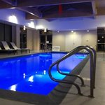                    Pool is Salinated water and perfect indoor warmth!