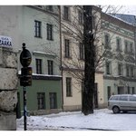                    Ciemna Street in old Krakow-Kazimierz
