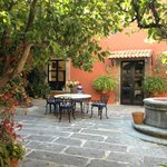 Courtyard of Casa Carmen