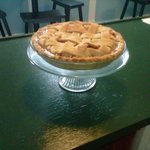 Home baked apple pie~ Local apples!