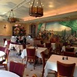                    Picture of breakfast buffet and room-see paintings